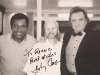 Charley Pride, Ronnie Miller, and Johnny Cash - Circa 1996 Nashville